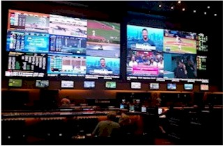 Nanolumens LED Display installed at Red Rock by NTA. 